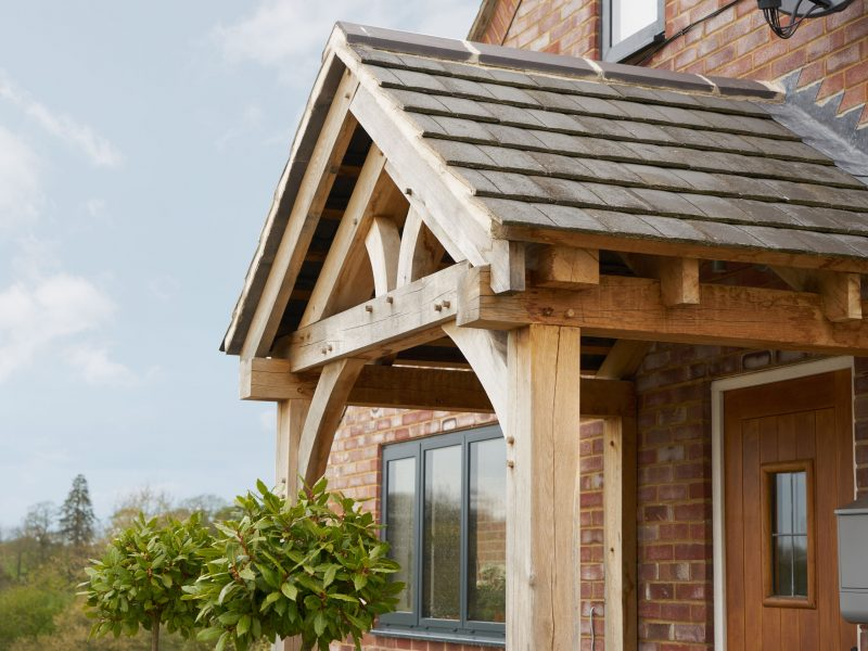 Bespoke Oak Porches Hand Crafted Bespoak Timber Frames
