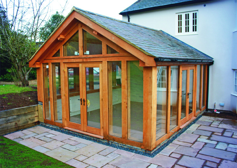 Arthingworth Conservatory Bespoak Timber Frames