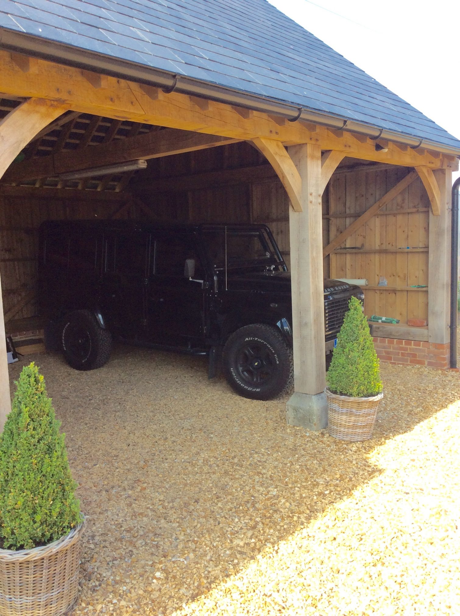 Norfolk Open Bay Garage Lincs