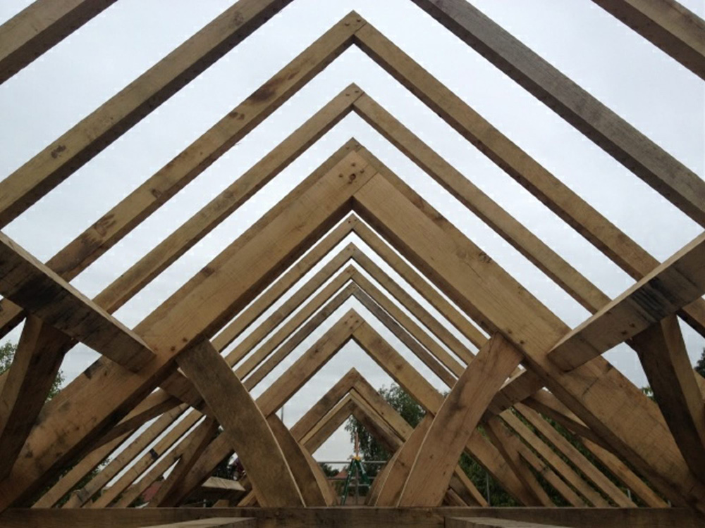 Oak House Frame Bingham