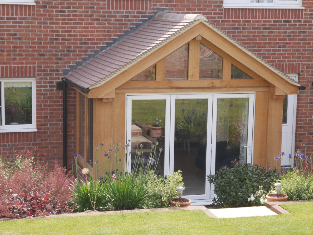 Oak garden room conservatory